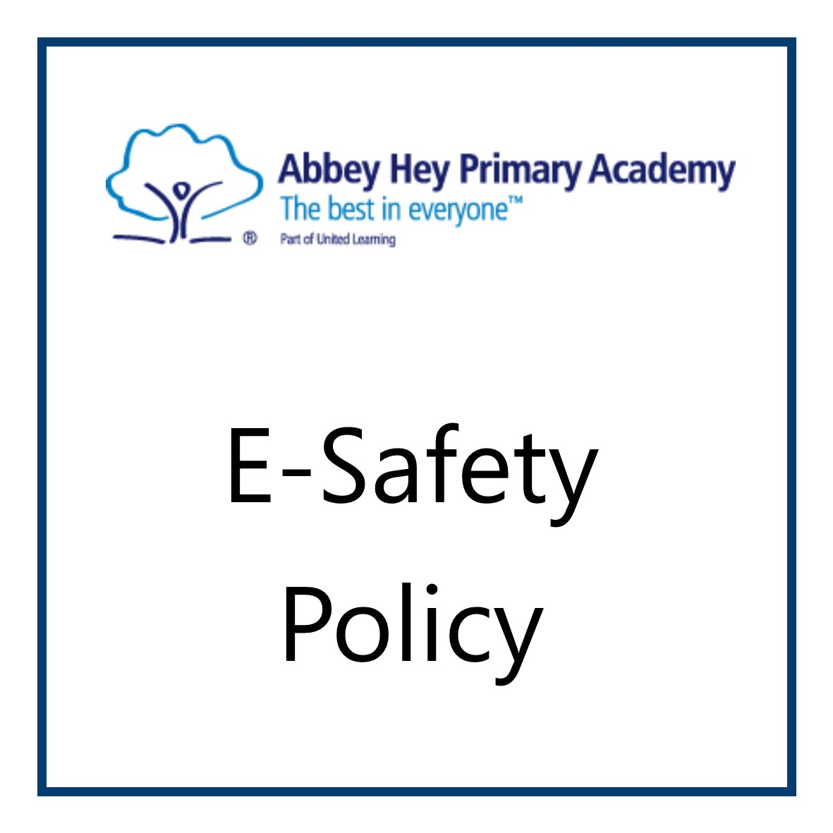 Abbey Hey Primary School > Information > Special Educational